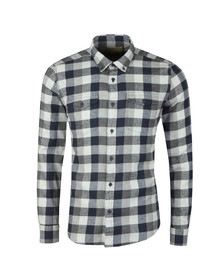 Barbour Int. Steve McQueen Mens Grey Intl Miter Shirt