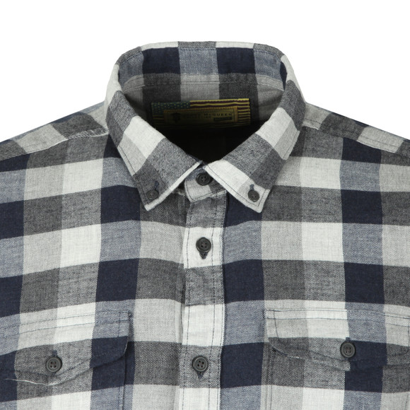 Barbour Int. Steve McQueen Mens Grey Intl Miter Shirt main image