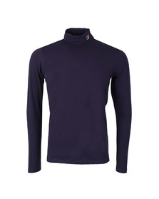 Fila Mens Blue 19th Roll Neck Sweater