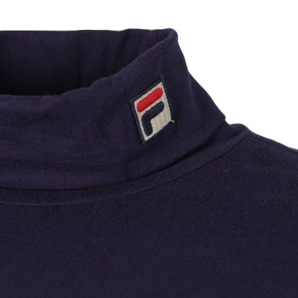 Fila Mens Blue 19th Roll Neck Sweater main image