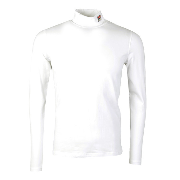 Fila Mens White 19th Roll Neck Sweater main image