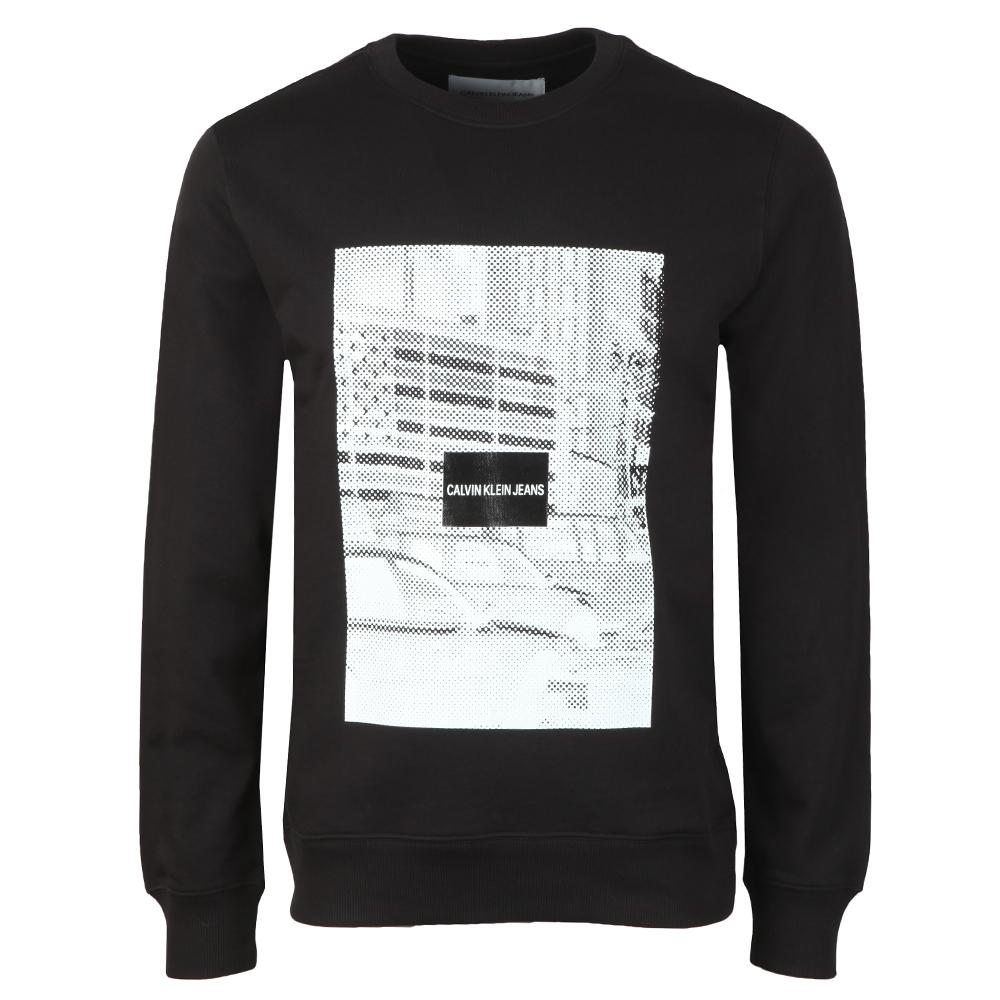 Pixelated Graphic Sweatshirt main image