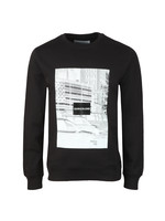 Pixelated Graphic Sweatshirt
