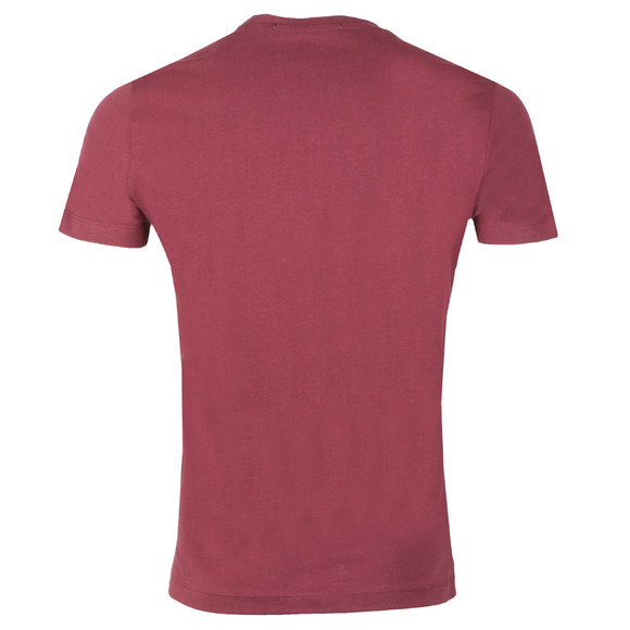 Calvin Klein Jeans Mens Red S/S Institutional Tee main image