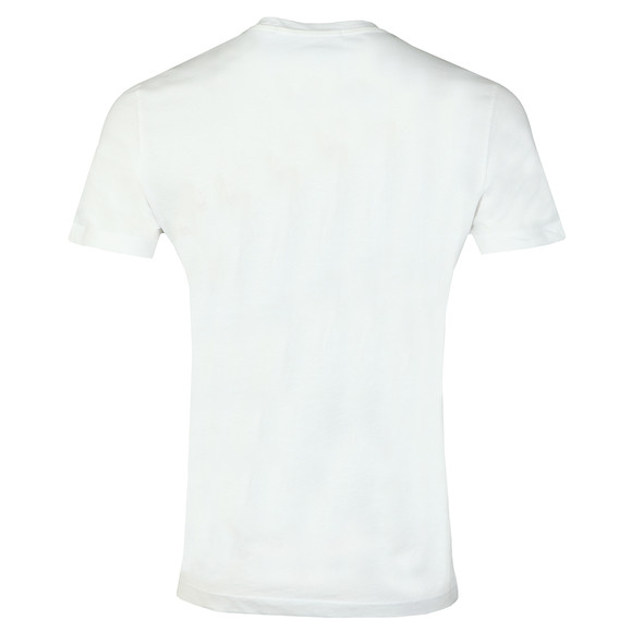 Calvin Klein Jeans Mens White Chest Institutional Tee main image