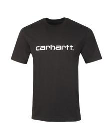 Carhartt WIP Mens Black Script T Shirt