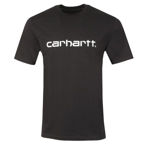 Carhartt Mens Black Script T Shirt main image