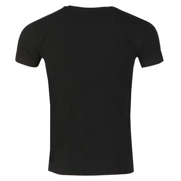 Emporio Armani Mens Black Megalogo T Shirt main image