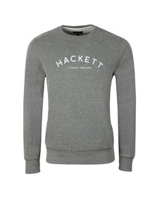 Hackett Mens Grey MR Crew Sweat