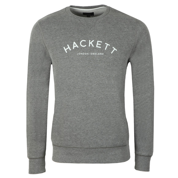 Hackett Mens Grey MR Crew Sweat main image