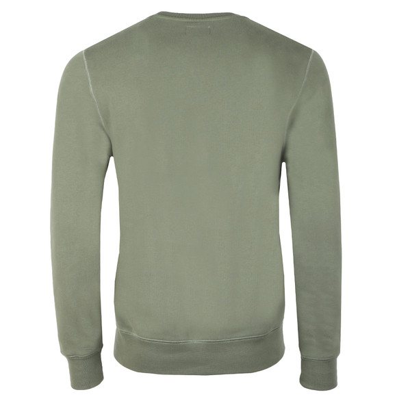 Hackett Mens Green MR Crew Sweat main image