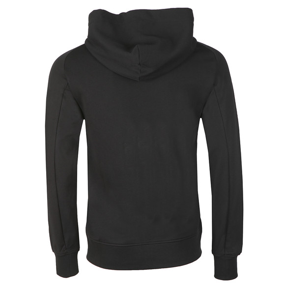 J.Lindeberg Mens Black Throw Ring Hood Zip Loop Sweat main image