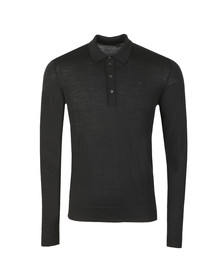 J.Lindeberg Mens Black Newman Perfect Merino Polo