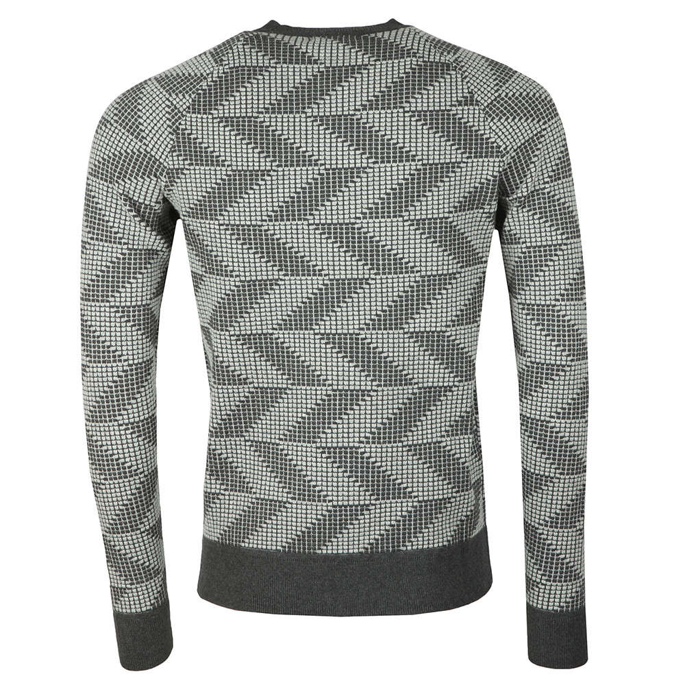 Vein Cotton Nylon Chevron Jumper main image