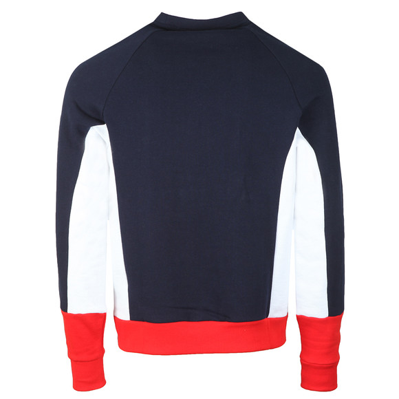 Fila Mens Blue Foster Colour Block Sweatshirt main image