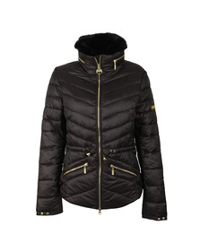 Barbour International Womens Black Valencia Quilt Jacket