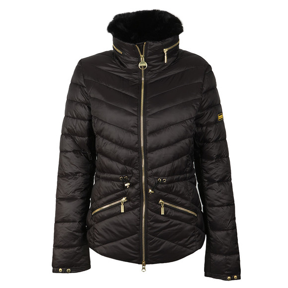 Barbour International Womens Black Valencia Quilt Jacket main image