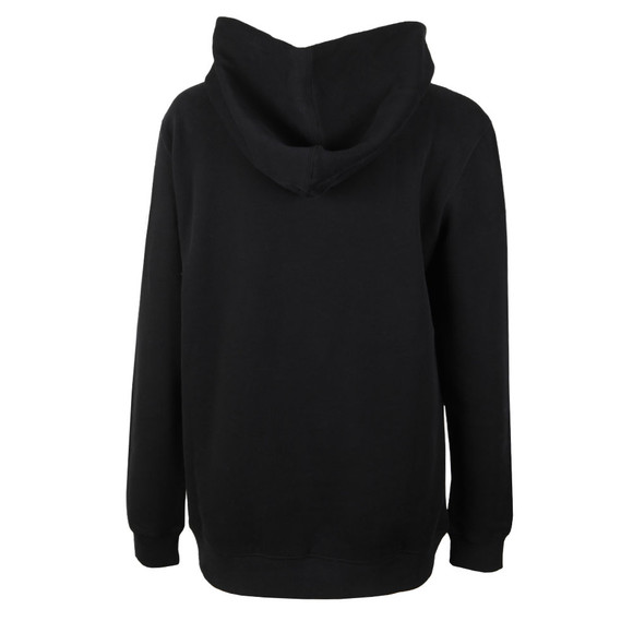 Calvin Klein Jeans Womens Black Monogram Box Relaxed Hoody main image