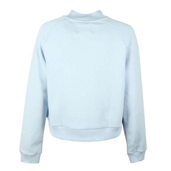 Calvin Klein Jeans Womens Blue Outline Monogram Relaxed Sweat main image