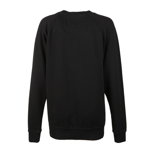 Vivienne Westwood Anglomania Womens Black Classic Sweatshirt With Patch main image