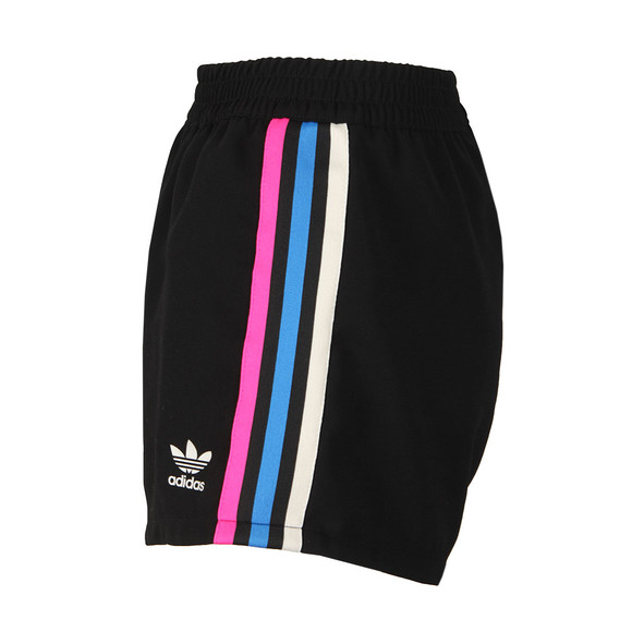 adidas Originals Womens Black 3 Stripe Short main image