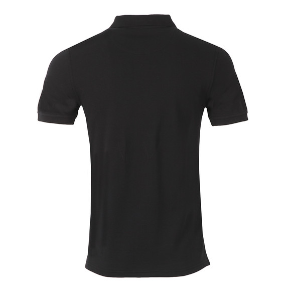 Lyle and Scott Mens Black Plain Polo Shirt main image
