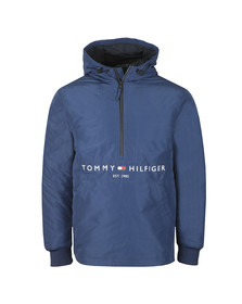 Tommy Hilfiger Mens Blue Padded Anorak