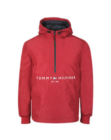 Tommy Hilfiger Mens Red Padded Anorak