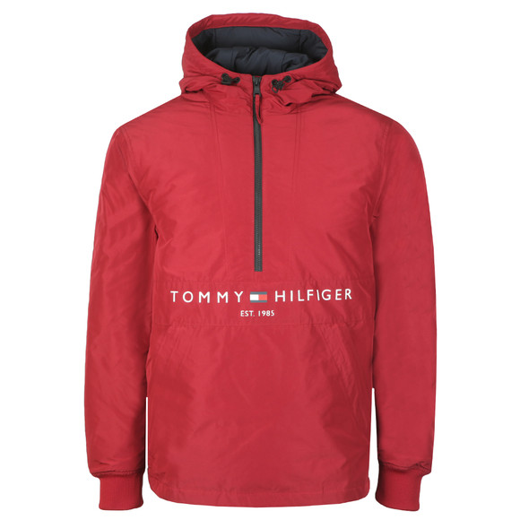 Tommy Hilfiger Mens Red Padded Anorak main image