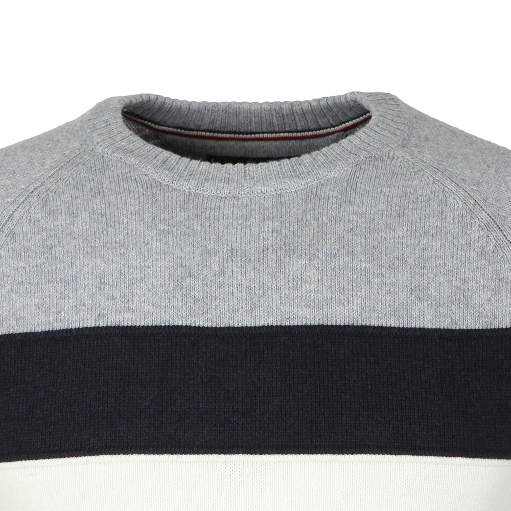 Colourblock Stripe Jumper main image