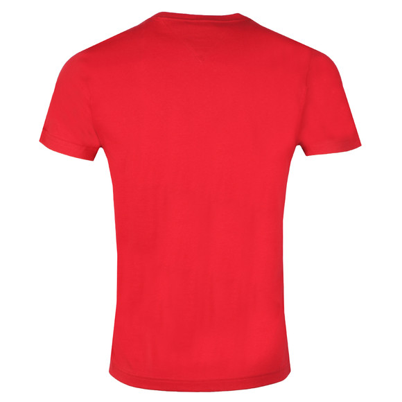 Tommy Hilfiger Mens Red Arch Logo Tee main image