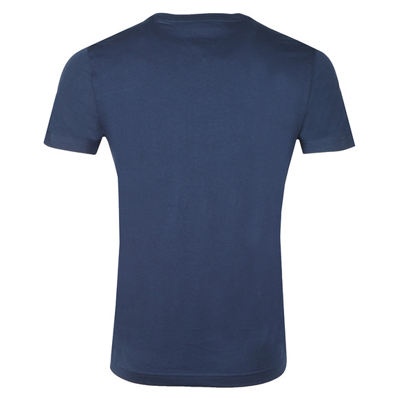 Tommy Hilfiger Mens Blue Arch Logo Tee main image