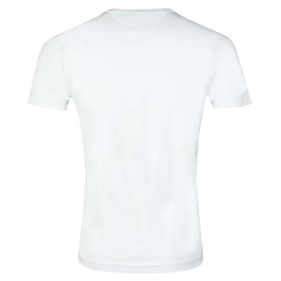 Tommy Hilfiger Mens White Box Logo Tee main image