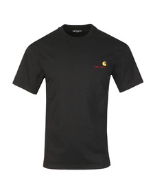 Carhartt Mens Black American Script T Shirt