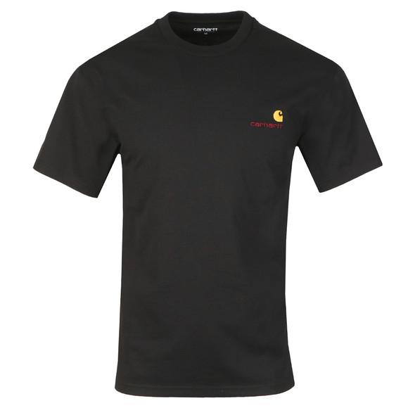 Carhartt Mens Black American Script T Shirt main image