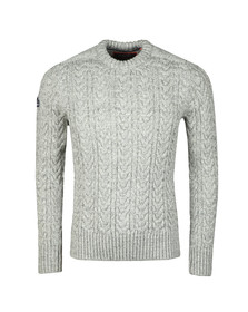 Superdry Mens Beige Jacob Crew Jumper