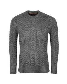 Superdry Mens Grey Jacob Crew Jumper