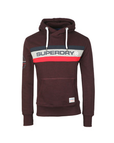 Superdry Mens Red Trophy Hood