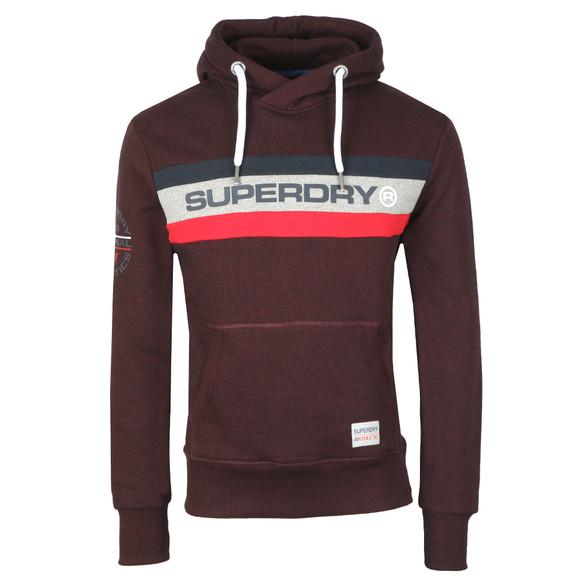 Superdry Mens Red Trophy Hood main image