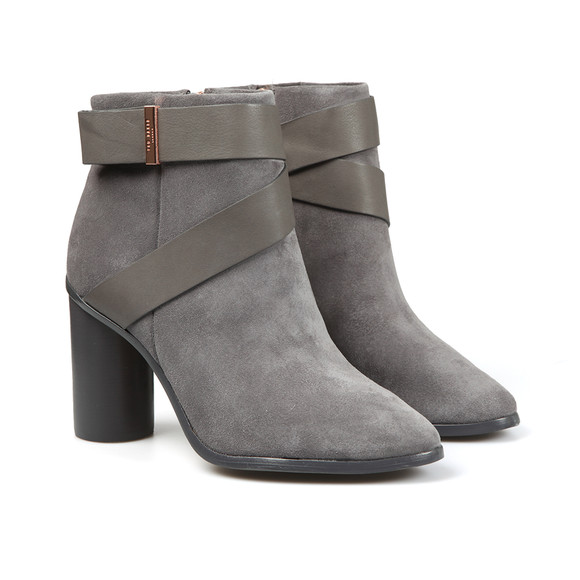 Ted Baker Womens Grey Matynas Suede Boot main image