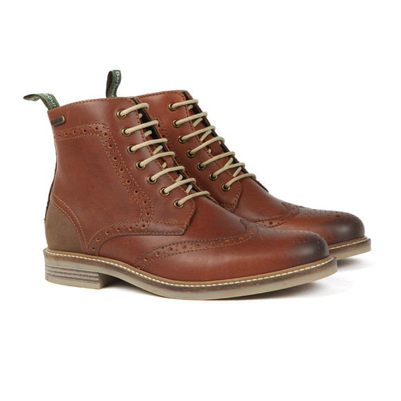 Barbour Lifestyle Mens Brown Belsay Boots main image