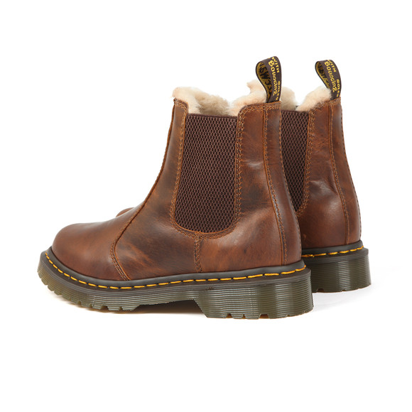Dr. Martens Womens Brown Leonore Boot main image