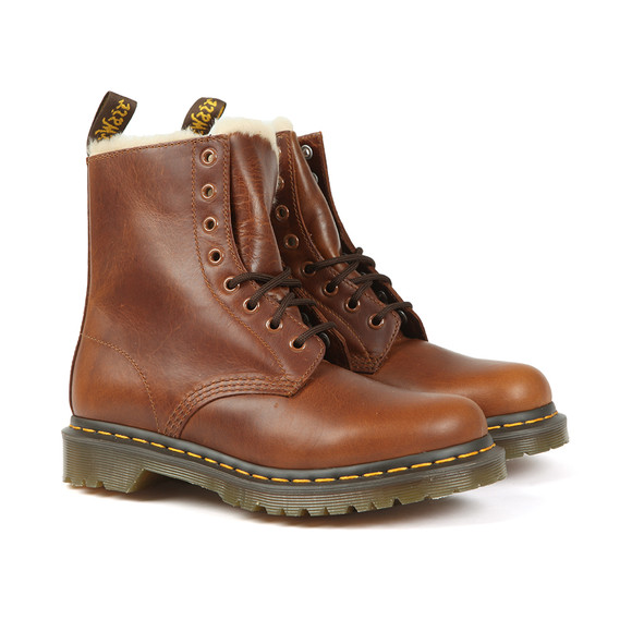 Dr. Martens Womens Brown Serena Boot main image