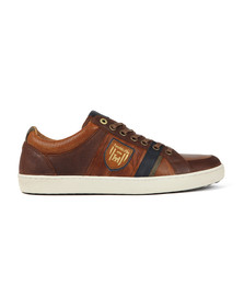 Pantofola d'Oro Mens Brown Tarente Uomo Low Trainer