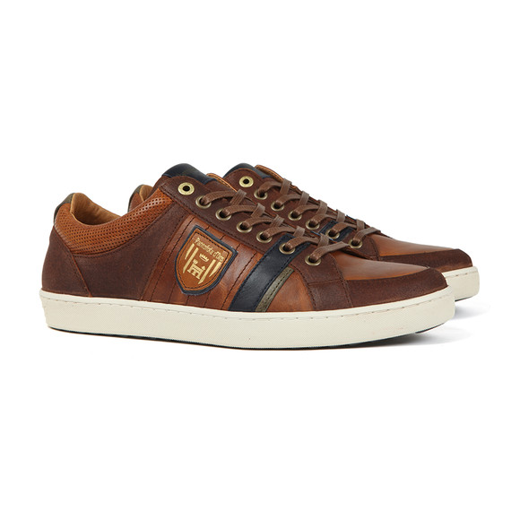 Pantofola d'Oro Mens Brown Tarente Uomo Low Trainer main image