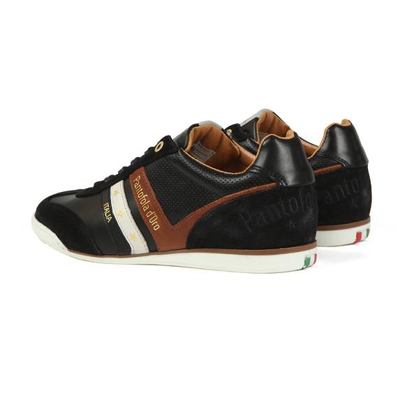Pantofola d'Oro Mens Black Vasto Uomo Low Trainer main image