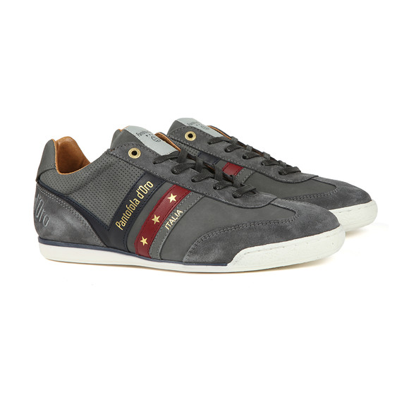Pantofola d'Oro Mens Grey Vasto Uomo Low Trainer main image