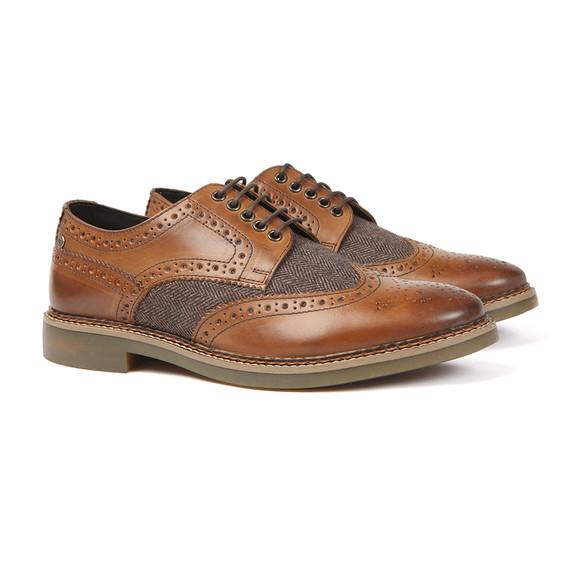 Base London Mens Brown Rothko Brogue Shoe main image