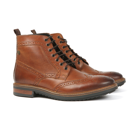 Base London Mens Brown Hopkins Boot main image