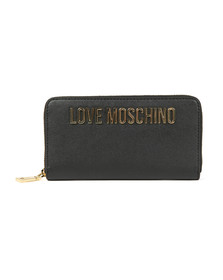 Love Moschino Womens Black Portafogli Purse